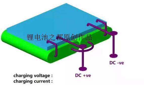 7.4V聚合物锂电池方案结构图