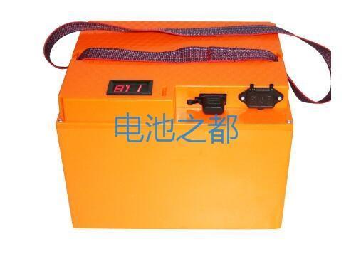定制黄颜色的电动车电池