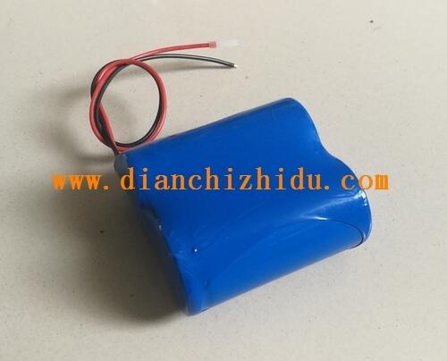 6.4V锂电池组是由2串磷酸铁锂电芯组装而成.