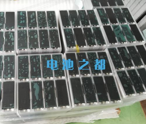 用在无人机22.2V聚合物电池上的黑皮聚合物电芯
