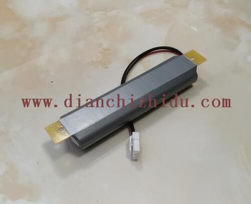 6.4V铁锂电池带环氧板输出插头线