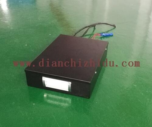 黑色侦察机器人电池组