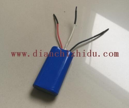 磷酸铁锂6.4V18650锂电池组是这样的