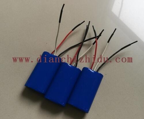 7.4V圆柱形锂电池生产厂家设计生产7.4V圆柱形锂电池组.