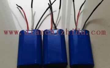 7.4V圆柱形锂电池图片展示