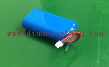 6.4V圆柱形锂电池图片展示