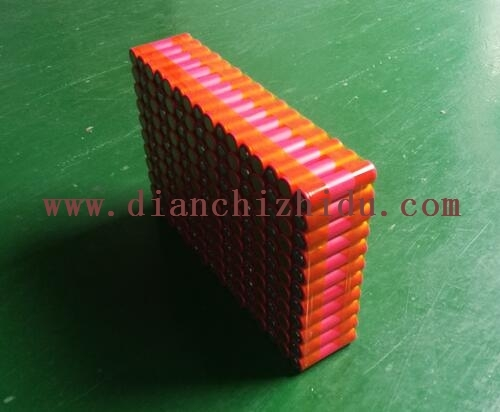 高级大红袍电芯做的大容量机器人电池
