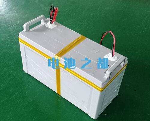 48V100Ah带铅酸外壳的船舶动力电池包