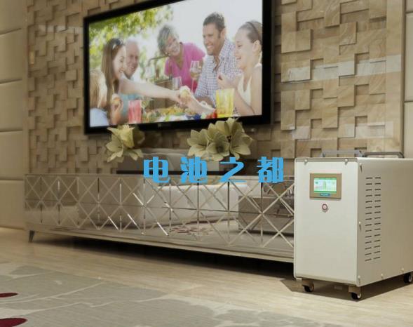家用储能电源模拟供给电视供电