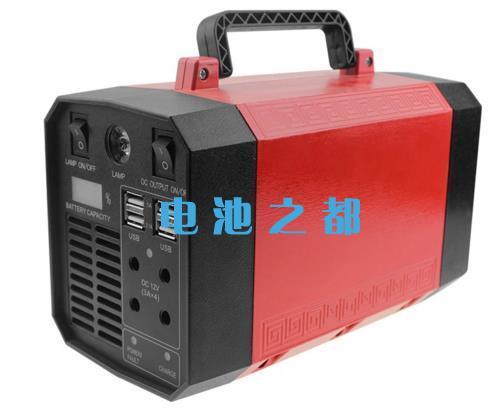 备用后背电源UPS红色效果图