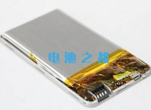 另一种锂聚合物手机电池结构方案