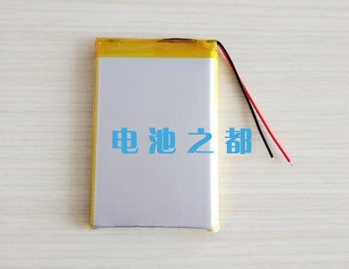 706090聚合物锂电池PACK成品展示