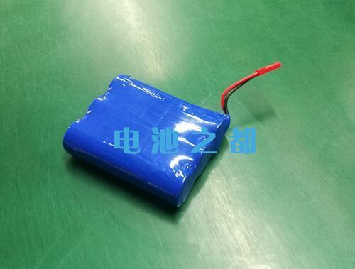 3串9.6V18650锂电池