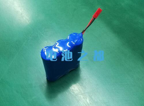 IFR18650电芯做的3串1并的9.6V18650锂电池