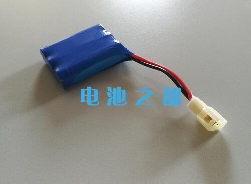 11.1V18650锂电池PACK成品是这样的