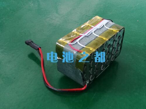 25.9V18650锂电池电池结构为7串4并10Ah