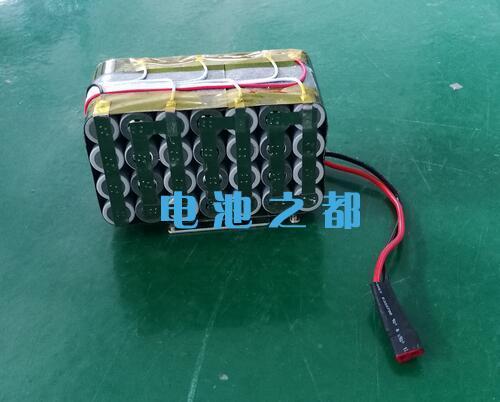 三元25.9V18650锂电池连接线检查