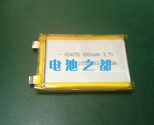 这是一款聚合物624055-1500mAh锂电芯