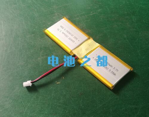 624055-1500mAh聚合物锂电池组