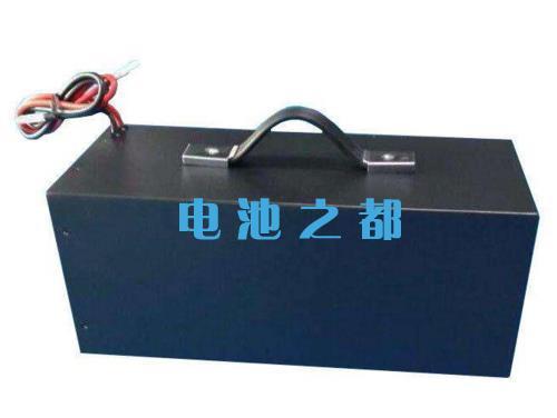 这是一组带通信的48V100Ah船舶动力电池系统