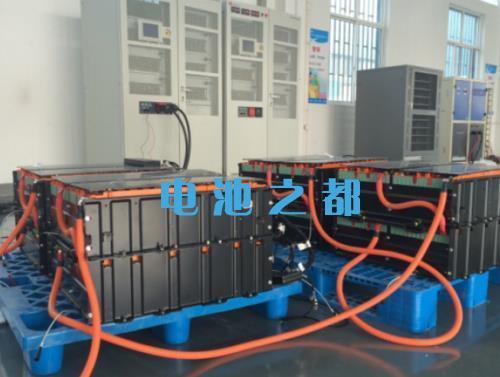 48V电动车锂电池包48V300Ah测试现场