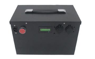 72V电动车锂电池组图片展示