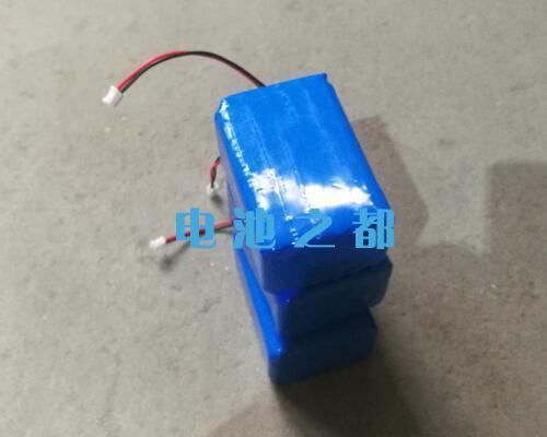 待包装的3.7V18650锂电池组