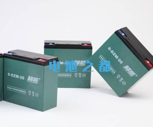 超威48V20Ah电动车蓄电池