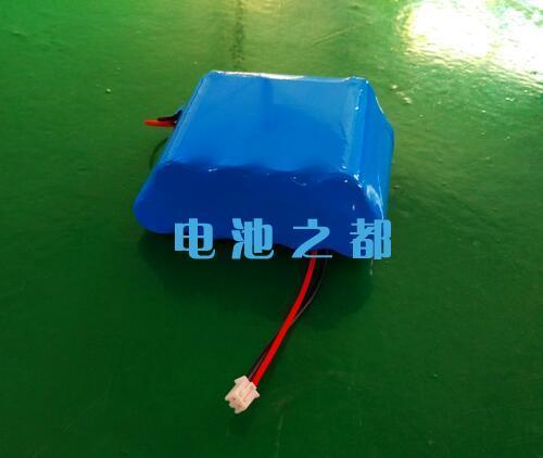 9串结构的33.3V2750mAh18650锂电池
