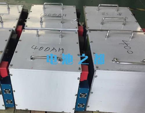 带通信大容量的24V400Ah电动船专用电池