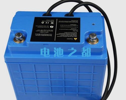 猜猜这个24V30AH电动船用电池多少钱?