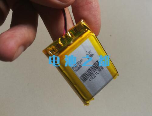 GPS导航仪603040-800mAh聚合物电池