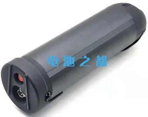 黑色外壳的36V10Ah电动车用水壶锂电池