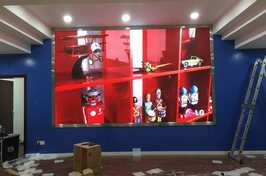 LED显示屏涪陵新妙镇P3安装案例