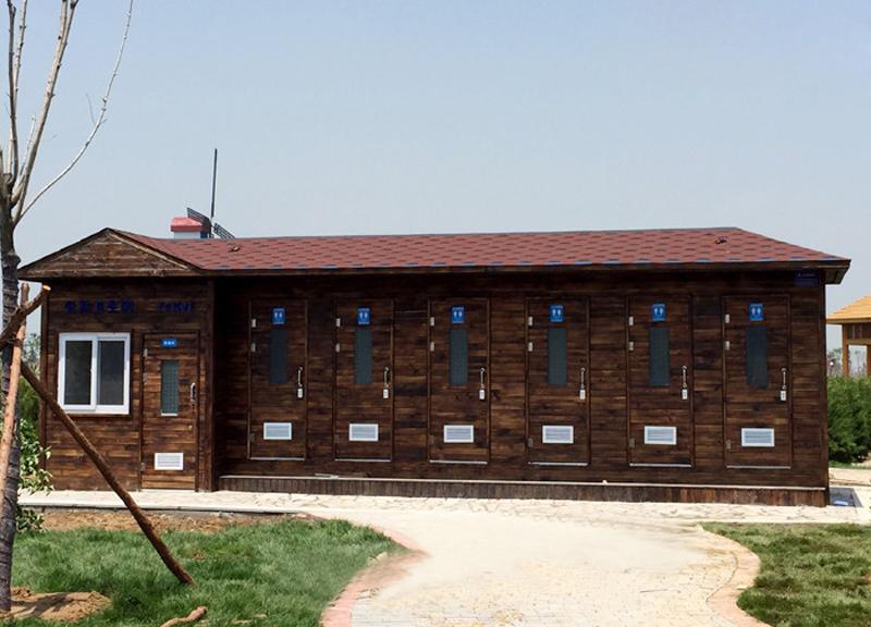 单管理间6位园林环保厕所