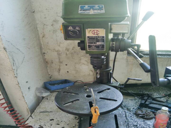 Drilling and tapping