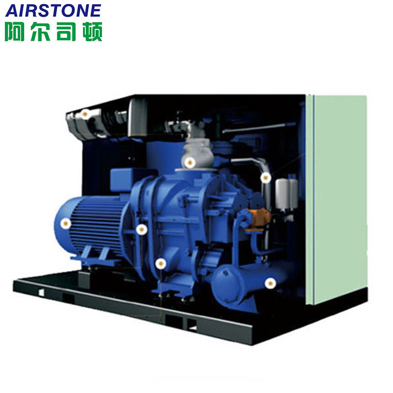 double stage screw air compressor 150HP-2