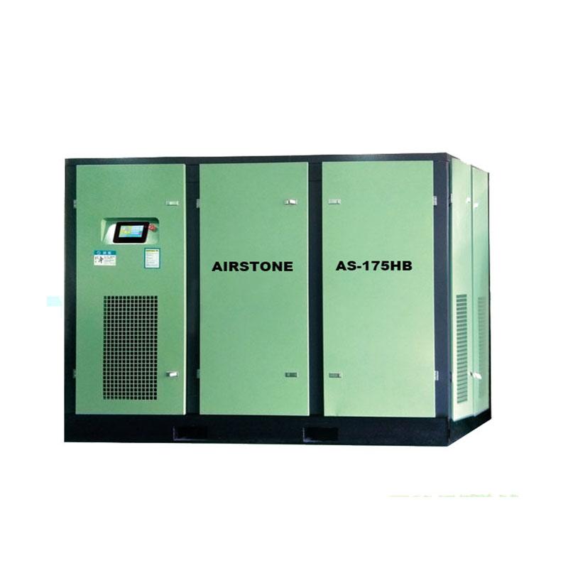 Energy-saving air compressor 175HP 132KW screw air compressor