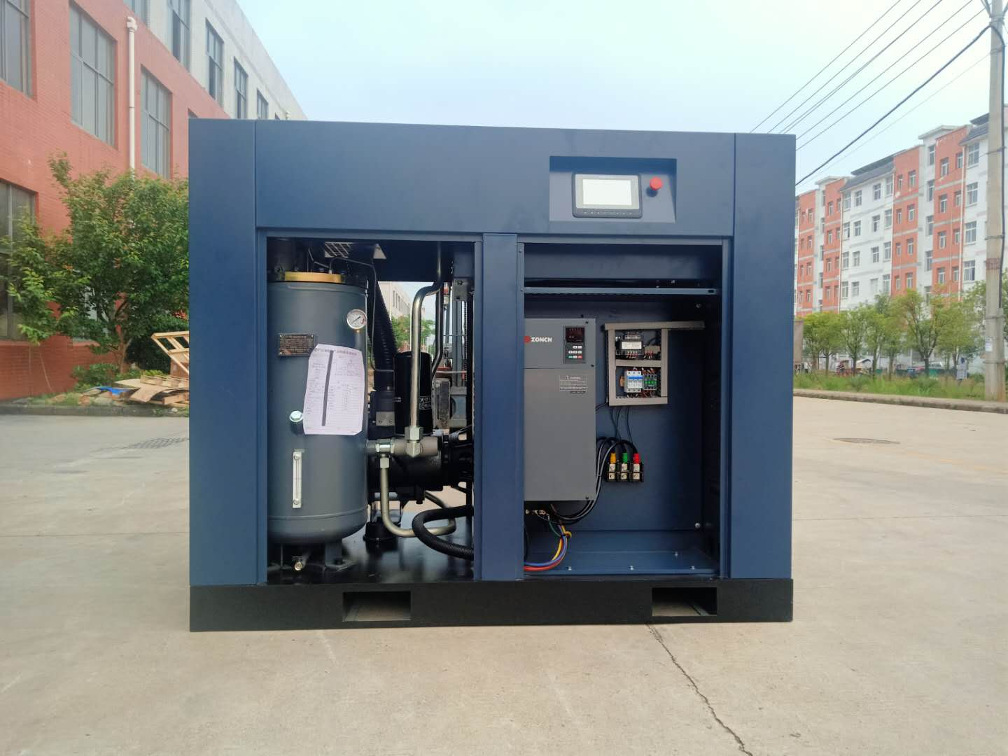 factory price high precision silent air compressor 37kw 50hp