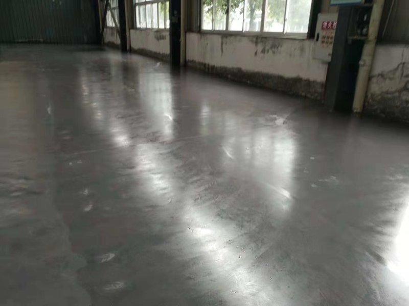 厂房地坪漆施工