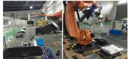 机器人主轴加工案例
