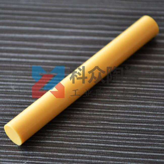 黄色氧化锆工业陶瓷棒