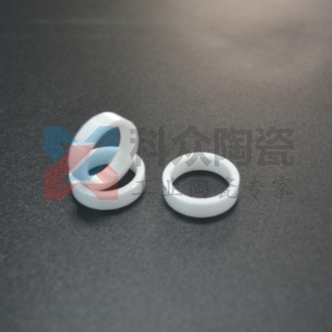 白色耐高温陶瓷环