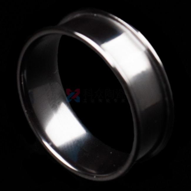 镜面氧化锆工业陶瓷环