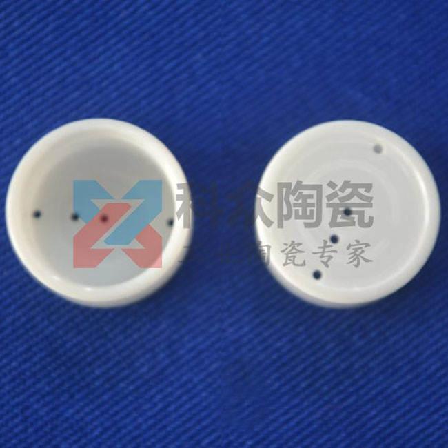 氧化锆工业陶瓷盲管打孔