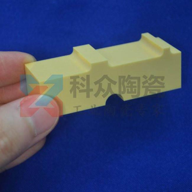 黄色氧化锆工业陶瓷结构件