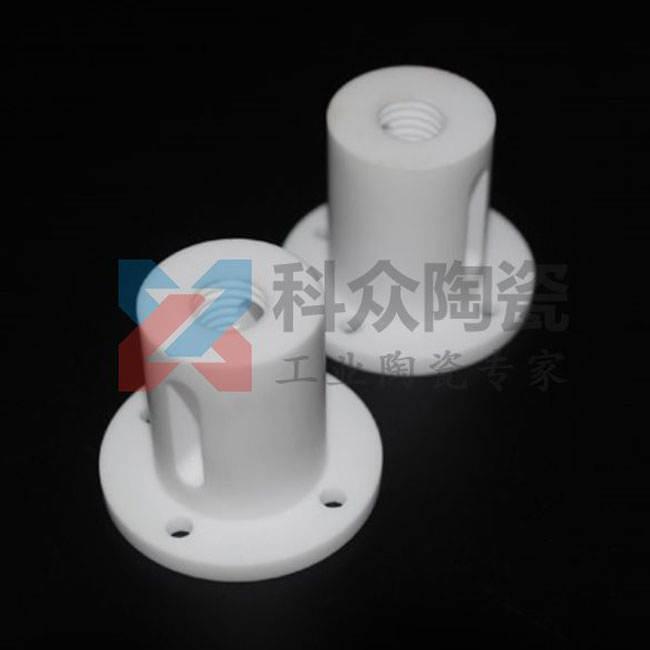 95氧化铝工业陶瓷柱塞攻牙