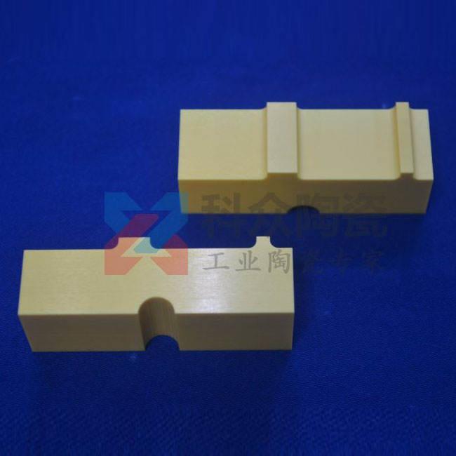 黄色氧化锆工业陶瓷块