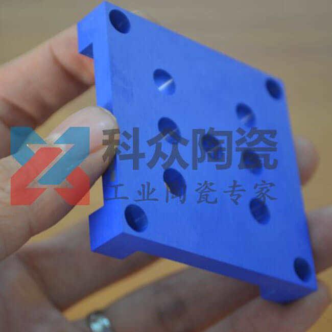 蓝色氧化锆工业陶瓷结构件