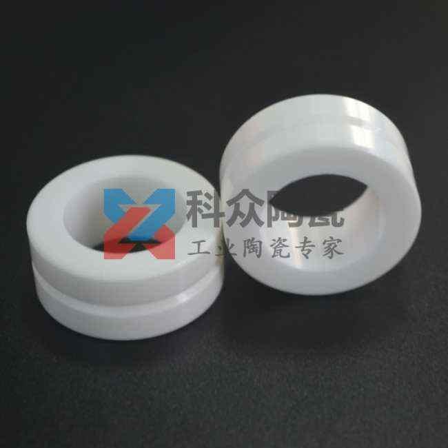 氧化锆工业陶瓷环开槽加工